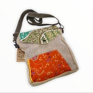 Vintage Addiction 1 of a Kind Recycled Canvas Bag
